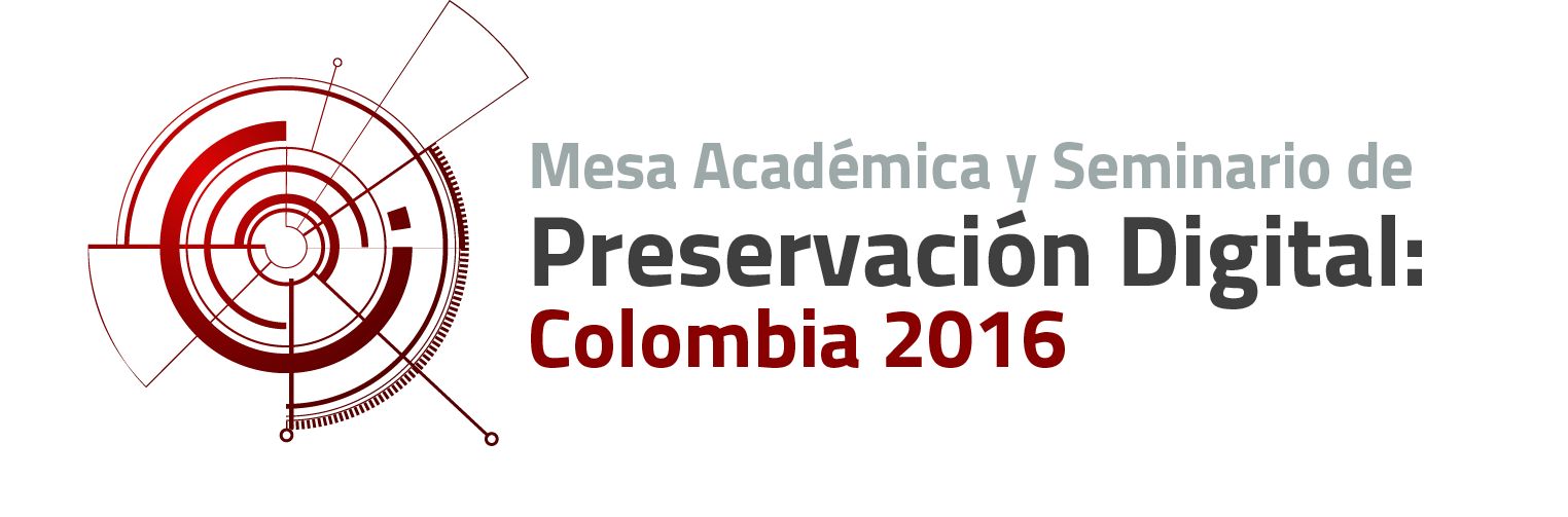 MESA ACADÉMICA Y SEMINARIO DE PRESERVACIÓN – AGN logo
